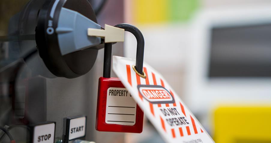 Curso Bloqueio e Etiquetagem de Fontes de Energia Perigosas