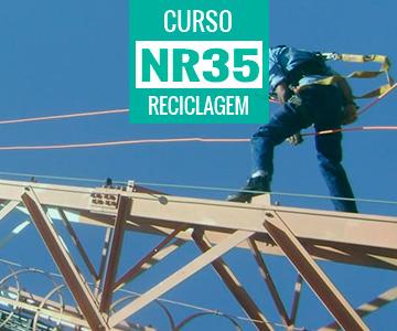 Curso de Reciclagem da NR 35 - Trabalho em Altura