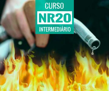 Curso de Reciclagem NR 20 - Inflamáveis e Combustíveis - Intermediário