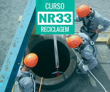 Curso de Reciclagem NR 33 - Supervisor de Entrada