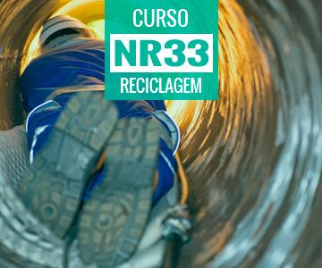 Curso de Reciclagem NR 33 - Trabalhador Autorizado e Vigia