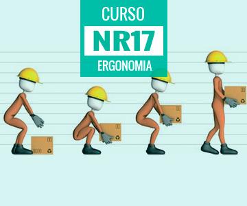 ... certificado de conclusão válido em todo o país. Curso NR 17 - Ergonomia b9aa2be5fa