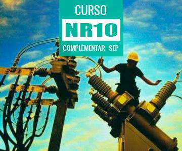 Curso Reciclagem NR 10 Complementar (SEP)